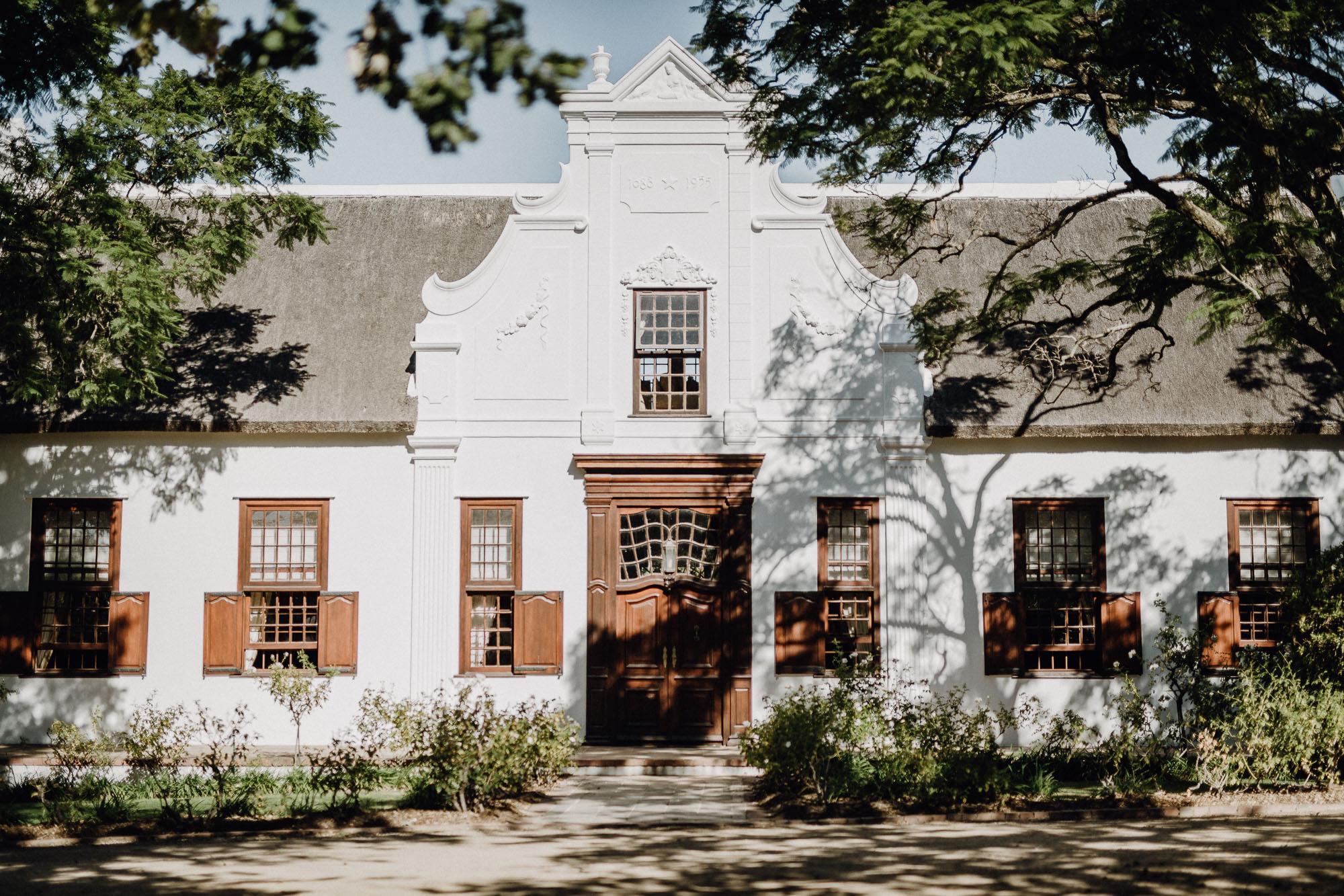Kapholländisches Haus im Vrede En Lust Wine Estate