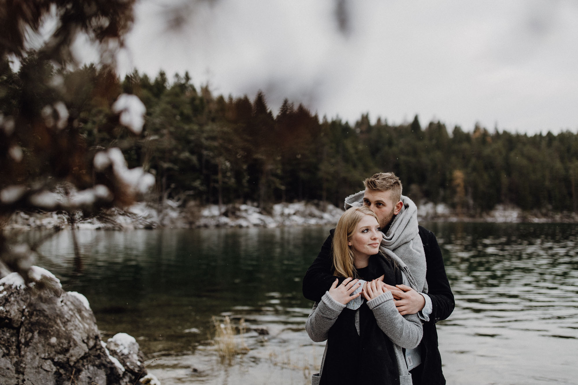 raissa simon photography destination couple munich eibsee 009 - Laura + Dominik