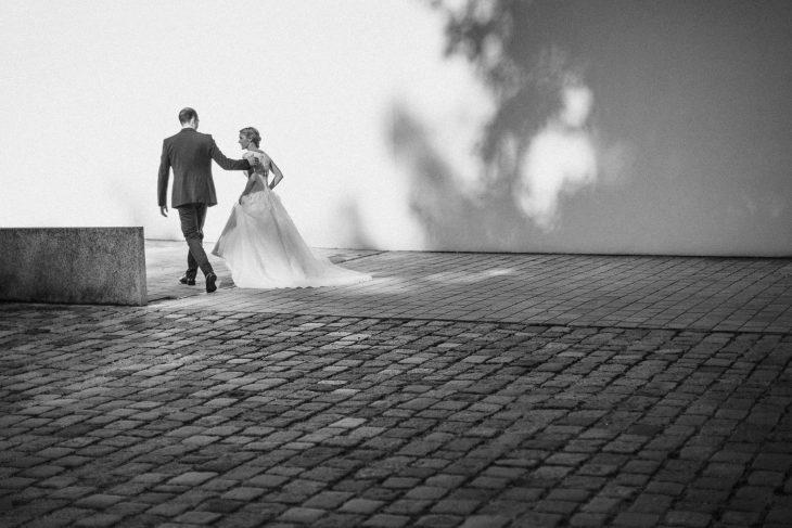 Brautpaar im Schloss Hohenkammer