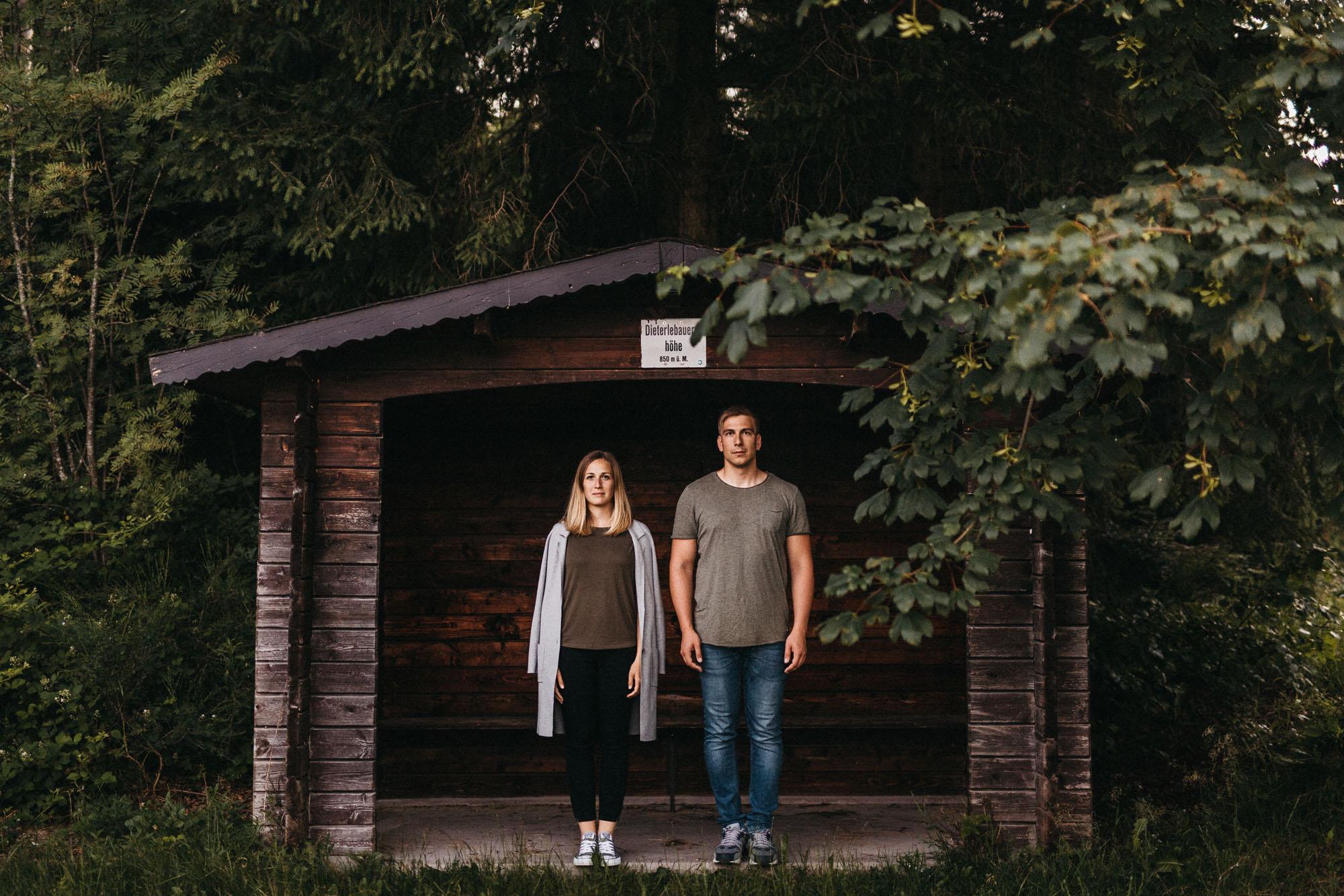 Authentisches Paarfotografie im Schwarzwald, Paarshooting, Pärchenshooting von Raissa + Simon Fotografie
