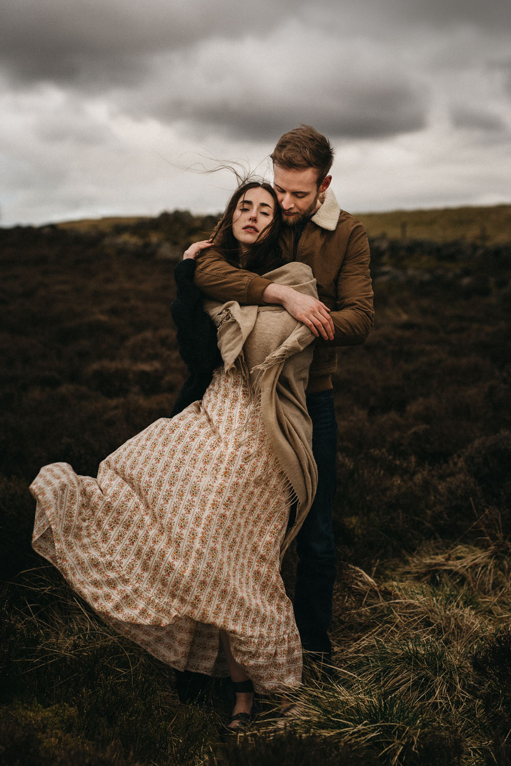 Epic Coupleshooting in the scottish Highlands - Raissa + Simon Fotografie