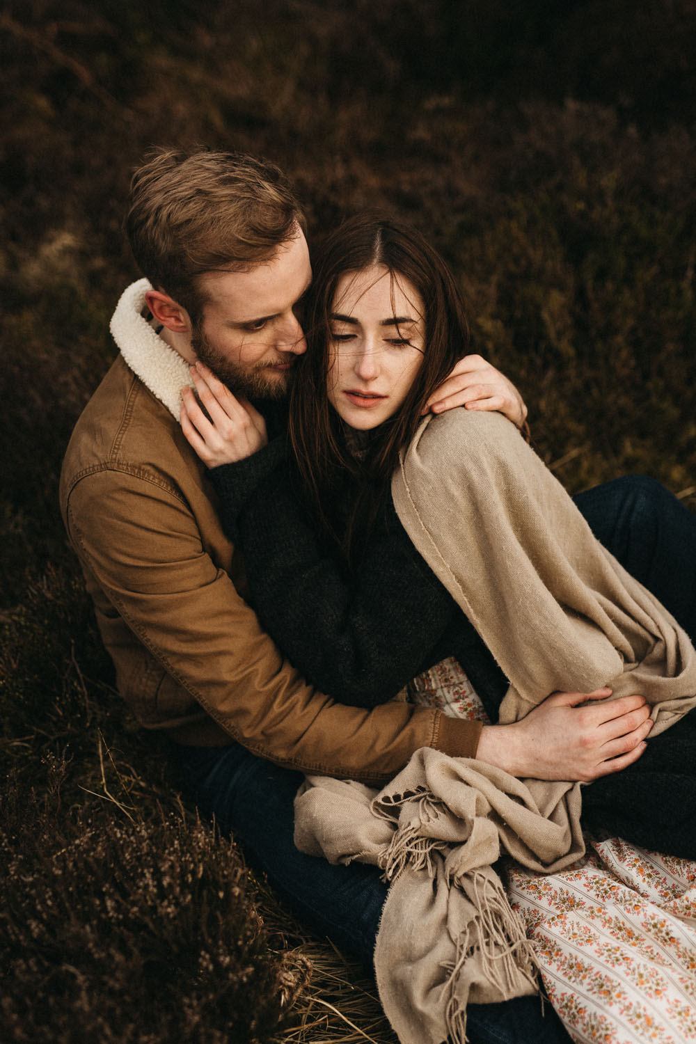 Couple Shooting, Elopment in the scottish Highlands - Raissa + Simon Fotografie