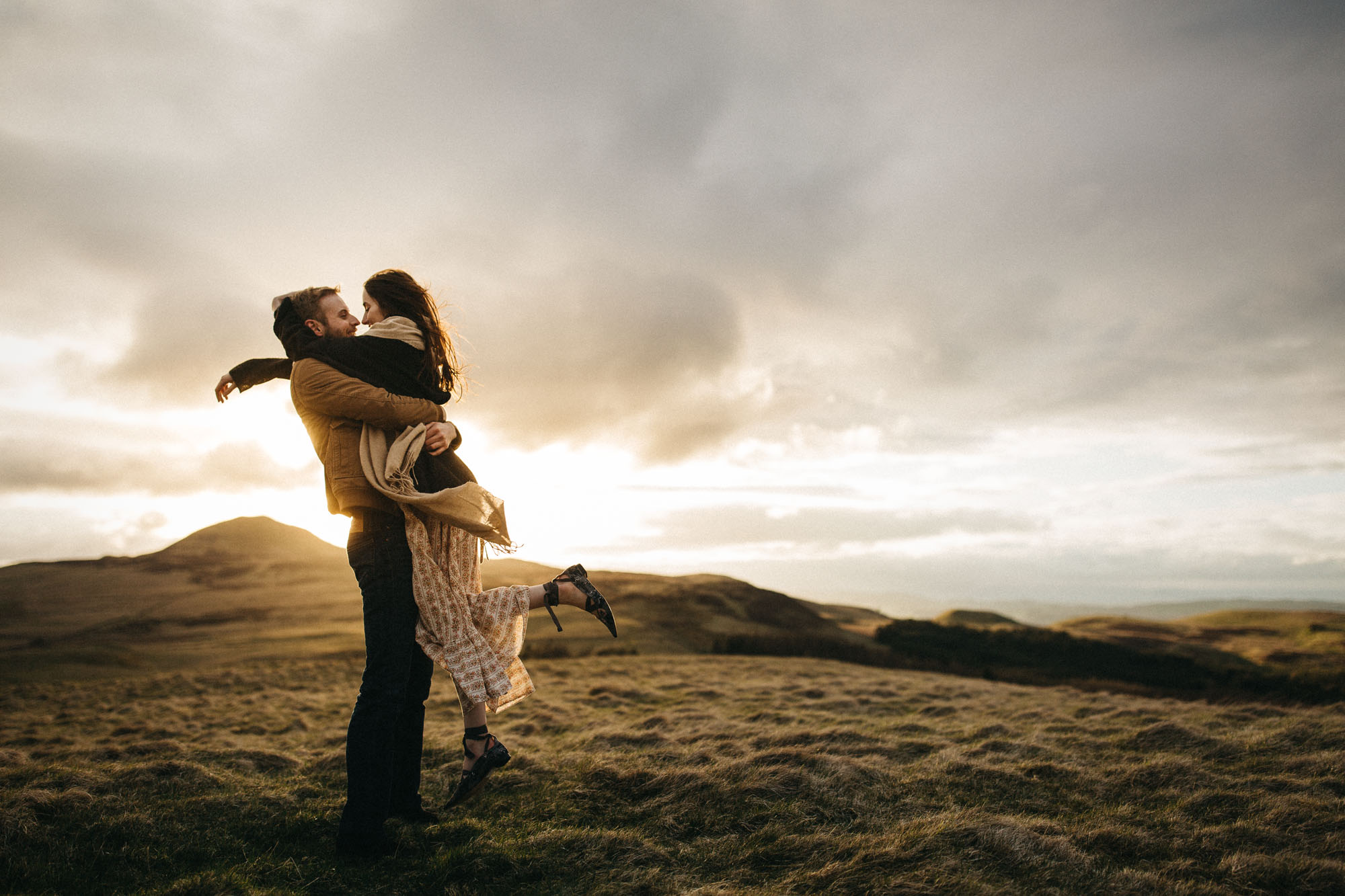 Raissa + Simon Fotografie | Paarshooting-Schottland-Highlands