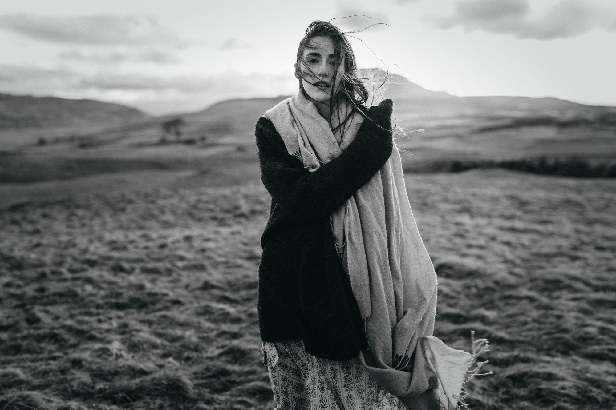 Portrait Shooting in the scottish Highlands - Raissa + Simon Fotografie