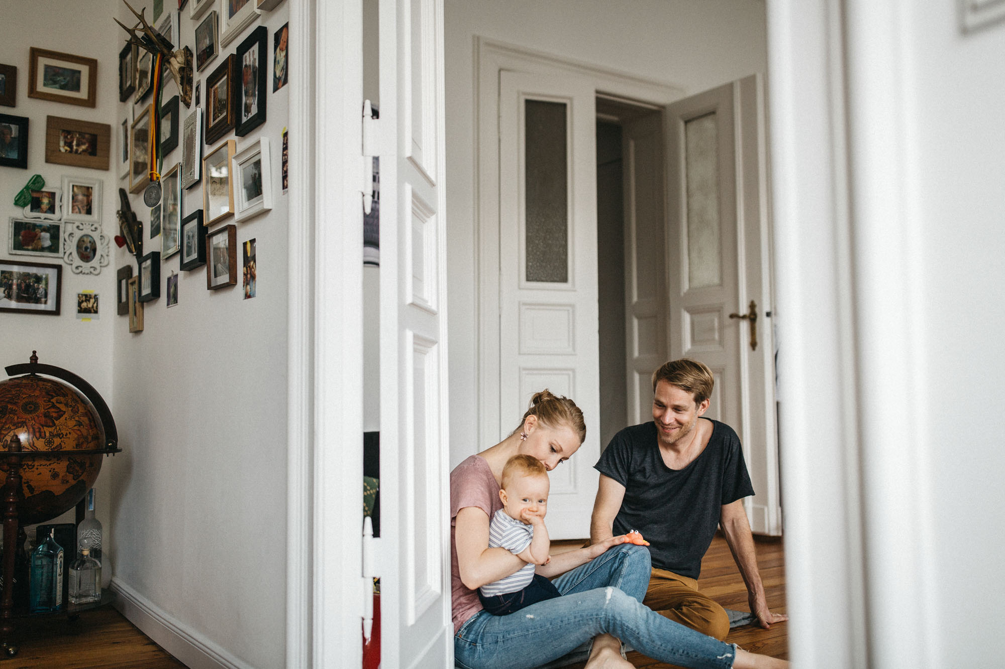 Familien Homestory in Berlin - Raissa + Simon Fotografie