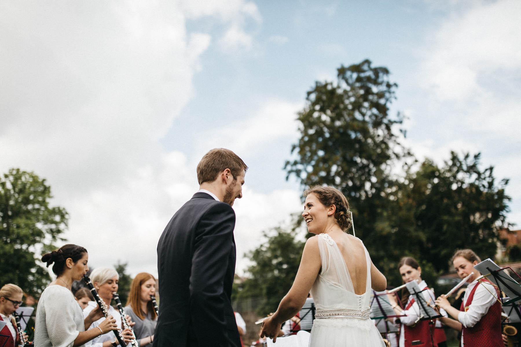 Musikalische Hochzeitstradition - Raissa + Simon Fotografie