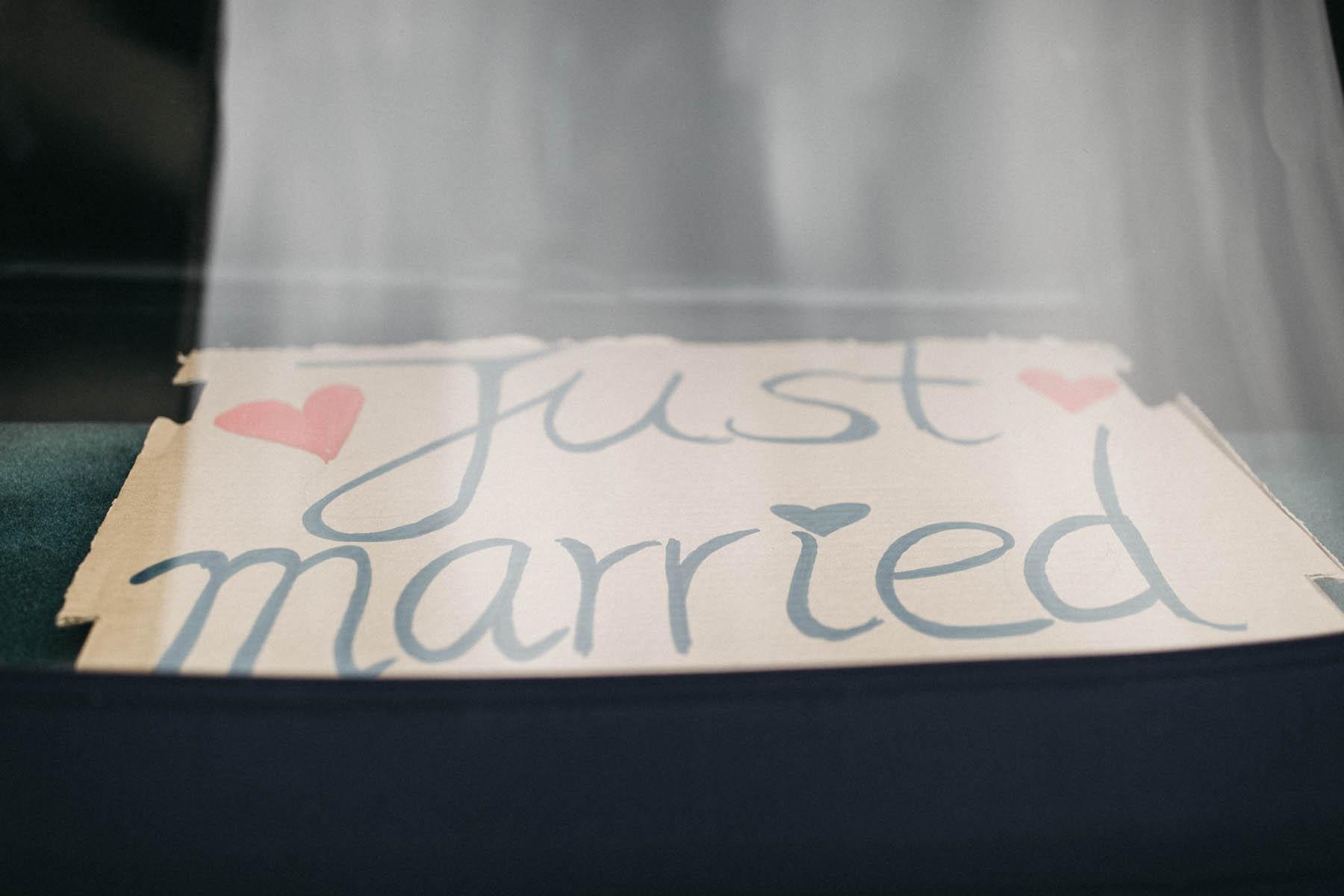 Just married - Raissa + Simon Fotografie