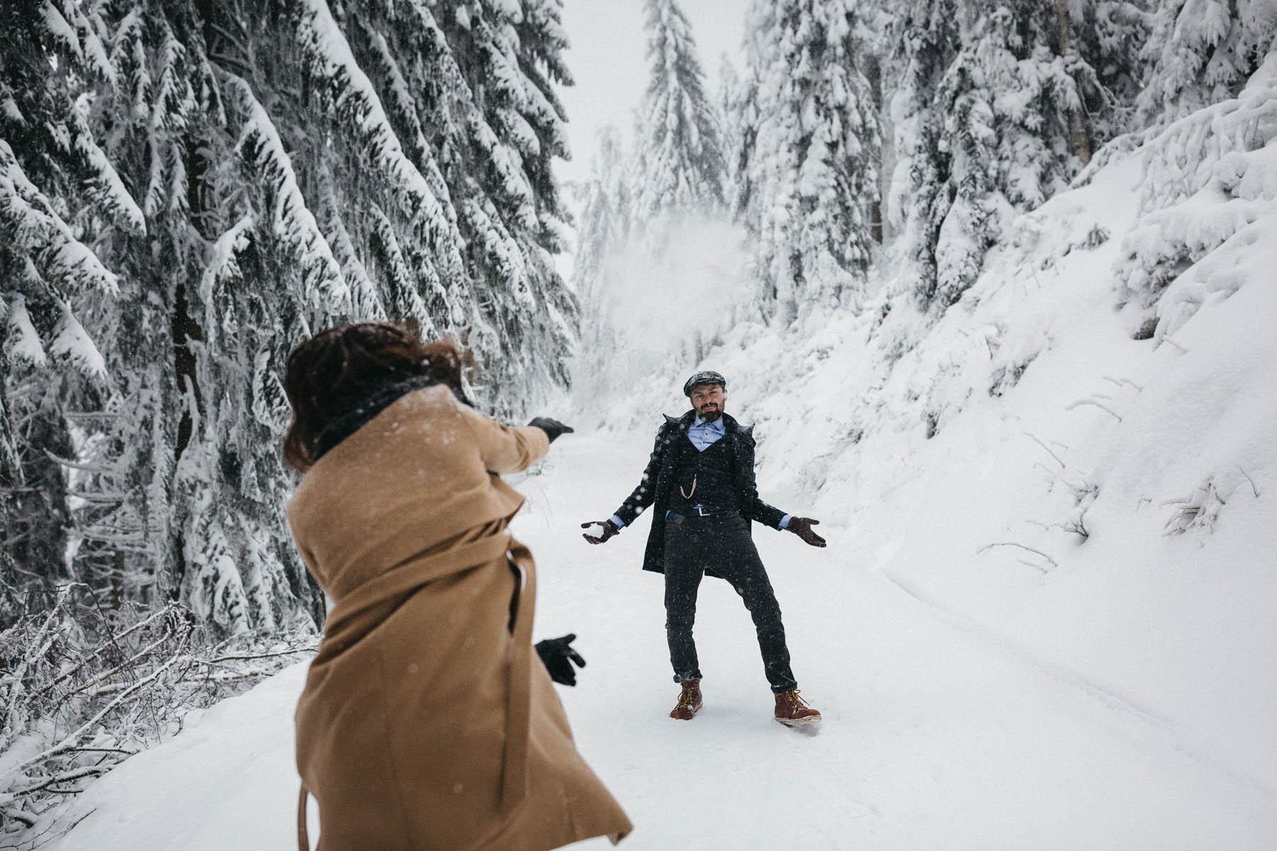 Raissa Simon Fotografie Paarshooting Nais Andre Winter Schwarzwaldhochstrasse 16