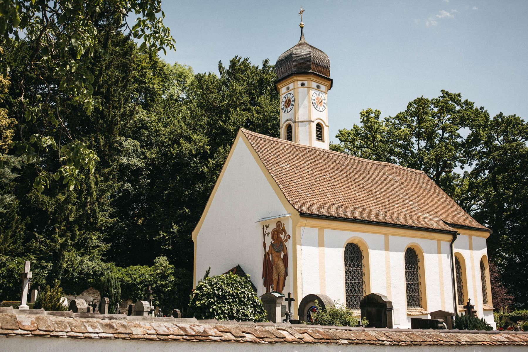 Hochzeit in der St. Peter und Paul Kirche am Starnberger See | Raissa + Simon Fotografie